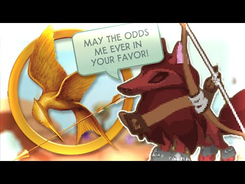 INTENSE ANIMAL JAM HUNGER GAMES