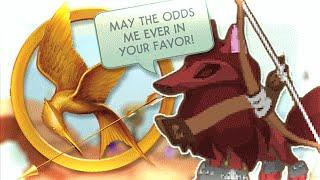 INTENSE ANIMAL JAM HUNGER GAMES!