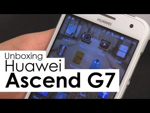 Huawei Ascend G7 Unboxing en Español