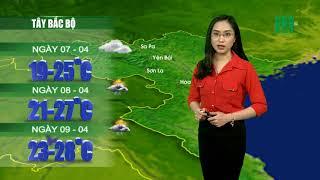 VTC14 | Thời tiết 12h 06/04/2018 | Toàn Bắc Bộ có mưa rào và dông trên diện rộng