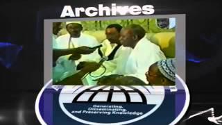 Archives : Temoignage de S. Mame Mor Mbacke Sur S. Maodo Sy & Mame Abdoul Aziz Sy Dabakh