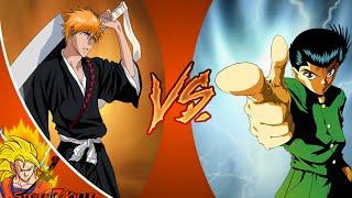ICHIGO vs YUSUKE! Cartoon Fight Club Episode 53 REACTION!!!