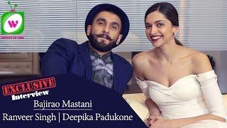 Ranveer Singh | Deepika Padukone | Bajirao Mastani Exclusive Interview - WhatsUpAus
