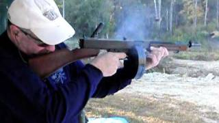 TommyGun slow motion video