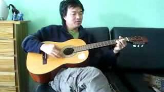 Oken sings an Adi folk song