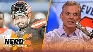 Colin talks Baker's Daniel Jones comments, isn't worried about Jimmy G, talks AB   NFL   THE HERD