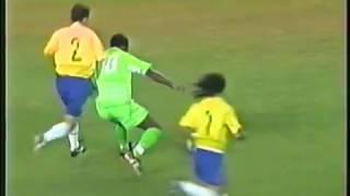 Nigeria vs Brasil-International Friendly 2003-Full game-English audio.