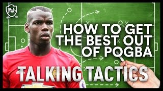 HOW TO GET THE BEST FROM POGBA | TALKING TACTICS