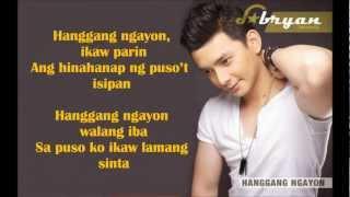 Hanggang Ngayon - Bryan Termulo- MINUS ONE