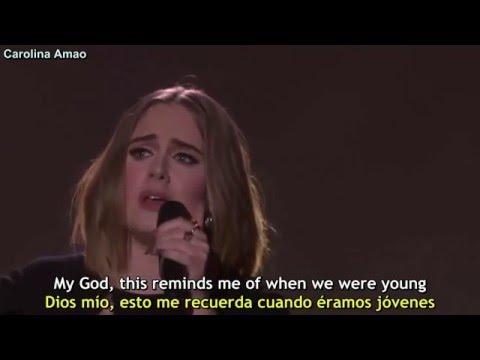 Adele - When We Were Young [Lyrics + Sub Español]