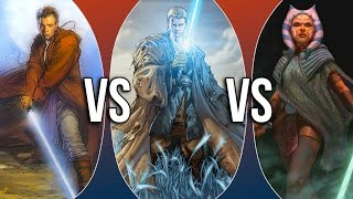 VS | Obi-Wan Kenobi vs Anakin Skywalker vs Ahsoka Tano