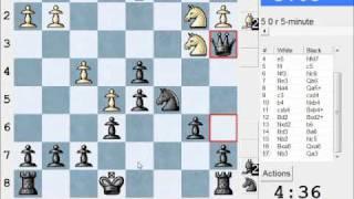 French Defense: Steinitz, Boleslavsky (C11) : LIVE Blitz (Speed) Chess #872 vs BlueMonday (2108)