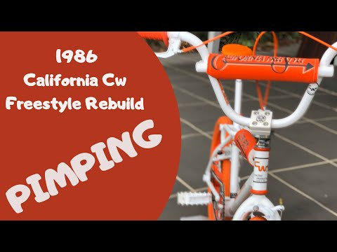 1986 California Cw Freestyle Rebuild ''PIMPING'