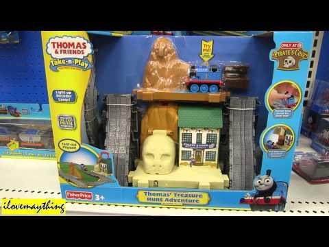 Thomas Treasure Hunt Adventures Thomas & Friends Take N Play Portable Play Set