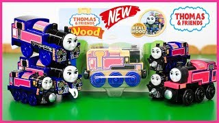 THOMAS AND FRIENDS THE GREAT RACE Wooden Railway ASHIMA Indian Tank Engine Kid Playing Toy Trains