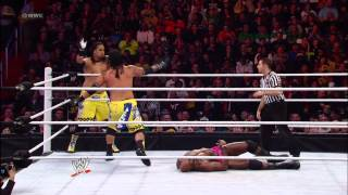 The Usos vs. The Prime Time Players: WWE Superstars, Jan. 4, 2013
