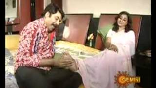 Feet massage  - Indian Tv serial