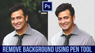 How to remove background using Pen Tool in Photoshop (Bangla)   Adobe Photoshop Tutorial - 2
