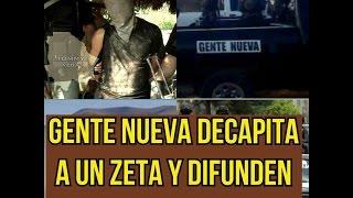 """Gente nueva de """"EL Chapo"""" se graban mientras decapitan a un Zeta que se burlo de la captura del Jefe"""