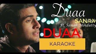 Duaa(Acoustic) | Sanam | Sanah Moidutty | Karaoke | Karaoke with lyrics | Clean