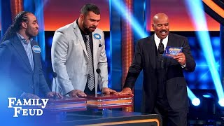 100 people hope to make WHOOPEE here! | Celebrity Family Feud