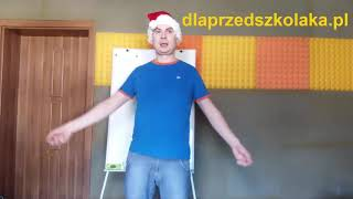 Świąteczna Piosenka z pokazywaniem