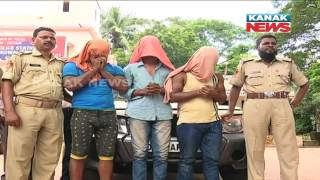 Rape Attempt On Odia Actress: Police Arrests 3 Accused