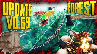 Update v0.69 - Modern Bow, Cooking Stews, Poison Upgrades & MORE! | The Forest