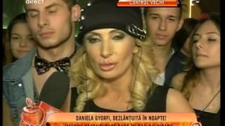 Daniela Gyorfi, dezlanţuită în noapte! Imagini necenzurate din noul său videoclip!