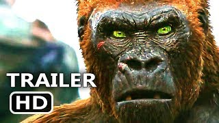 WAR FOR THE PLANET OF THE APES Official Trailer # 4 (2017) Sci Fi Movie HD