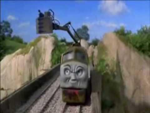 Thomas & the Magic Railroad DIesel 10 scene