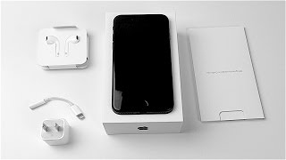 iPhone 7 Unboxing: Matte Black!