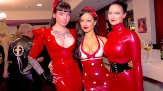DOMINATRIX - Fetish Latex Models - Amsterdam - November 2014 - Sister Sinister