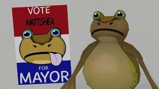 VOTE MATT FOR MAYOR! - The Amazing Frog