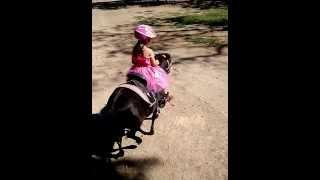 Princess Jennifer Riding Her Pony