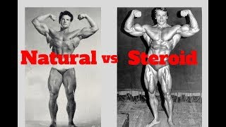 2 Types Of Classic Physiques (Natural v.s Steroid)