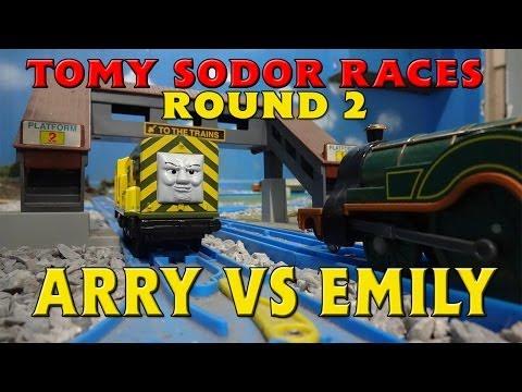 Tomy Sodor Races Arry vs Emily Round 2