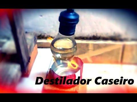 Como fazer um Destilador Caseiro Homemade Still