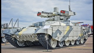 Russia Tests BMPT-72 (Terminator-2) in Syria
