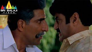 Narasimha Naidu Movie Balakrishna Warning to Mukesh Rishi Scene | Balakrishna | Sri Balaji Video