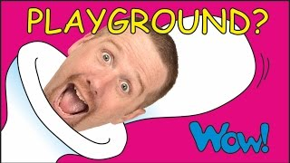 Playground for Kids | New House for Steve and Maggie Magic | Wow English TV