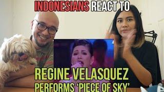 Indonesians React To Regine Velasquez Performs 'Piece Of Sky' LIVE