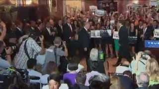 Donald Trump - Security attacks Protesters outside Trump Tower