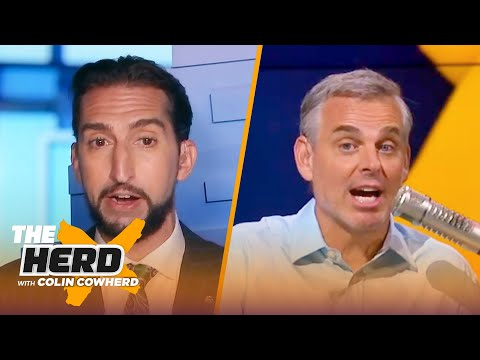 Giannis is the best player in the NBA CP3 s future — Nick Wright NBA THE HERD