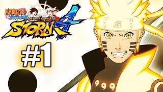 Naruto Shippuden: Ultimate Ninja Storm 4 - Beginning [Episode 1] [ENGLISH DUBBED]