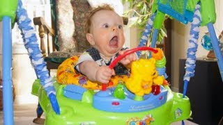 Funny Baby Jumper Fails - TRY NOT TO LAUGH CHALLENGE
