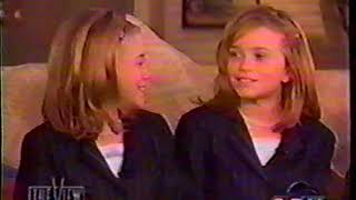 The View 1998 Mary Kate and Ashley Olsen