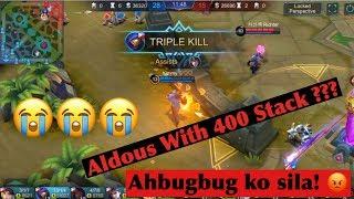 400 Stack Aldous ? Full Game Replay | Kim Jason Vlogs!