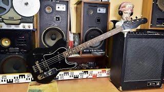 Jolana Iris Bass - elektrická kytara - electric guitar - service required (No.4556)