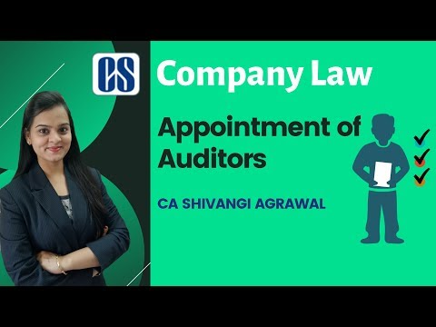 Xxx Mp4 Appointment Of Auditors CS Executive Company Law By CA Shivangi Agrawal 3gp Sex